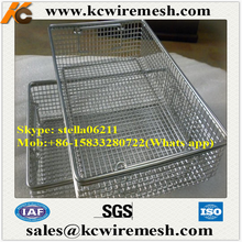 Factory!!!!!!!! KangChen cheap stainless steel wire mesh basket / wire bins (factory)
