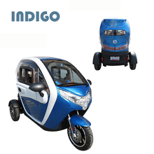2000W cheap electric tricycle with roof and passenger seat