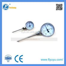 Plastic WSS-411 analog temperature indicator with high quality