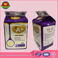 Hot Sale Super Absorbent Economic disposable cheap adult diapers with private brands and lable