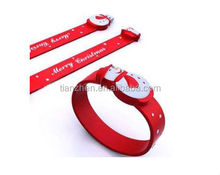New Silicone Slap USB Wrist Band Bracelet USB Flash Drive with free logo