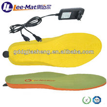 Outdoor Work Electric Heated Shoes Insole with Temperature Control