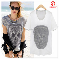 new style 100% cotton girls wet t shirts manufacturer