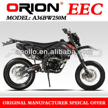 China Apollo Orion On Road motorcycle 250cc EEC Approved (AGB-36,RX 250 17/17)