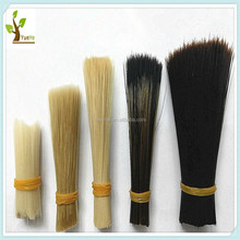 High quality flagged/tapered pet hollow synthetic filament/fiber for paint brush