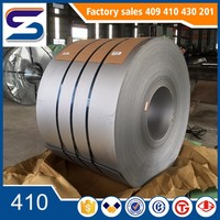410 Stainless Steel Coil/Thickness 0.1-2.0mm/BA/2B/Hot-Rolled