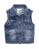 Bullet Proof Children Boys Fashion Soft Denim Vest Boutique Vest For Kids
