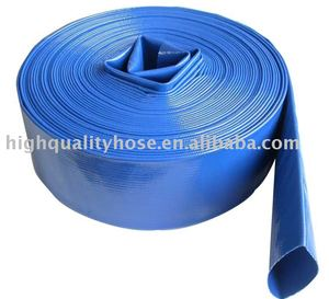 One Step Extrusion Water Discharge PVC Layflat Hose