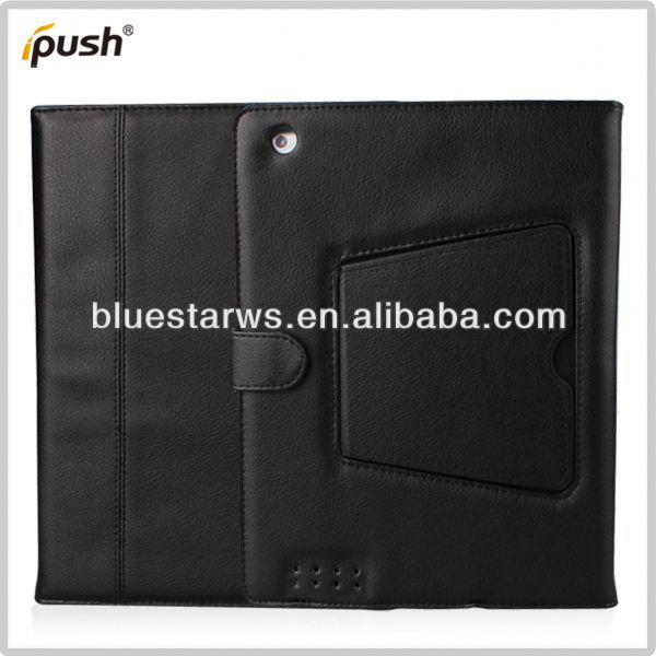 2014 new design Bluetooth Keyboard Leather Case For Ipad 2 3 4 unbreakable case for ipad air