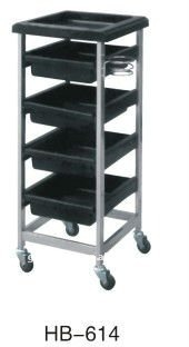 durable hair salon working trolley on factory price
