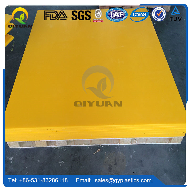 high wear resistance polyethylene sheet and solid HDPE plastic blocks and hard plastic sheet