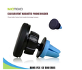 China mobile phone accessories 360 degree rotation universal air vent magentic car mount holder from shenzhen factory