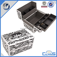 MLD-CC898 New personality case durable aluminum jewelry box for display