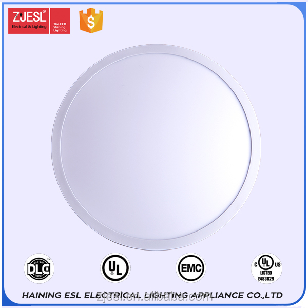 Aluminum frame SMD2835 recessed round led panel for home
