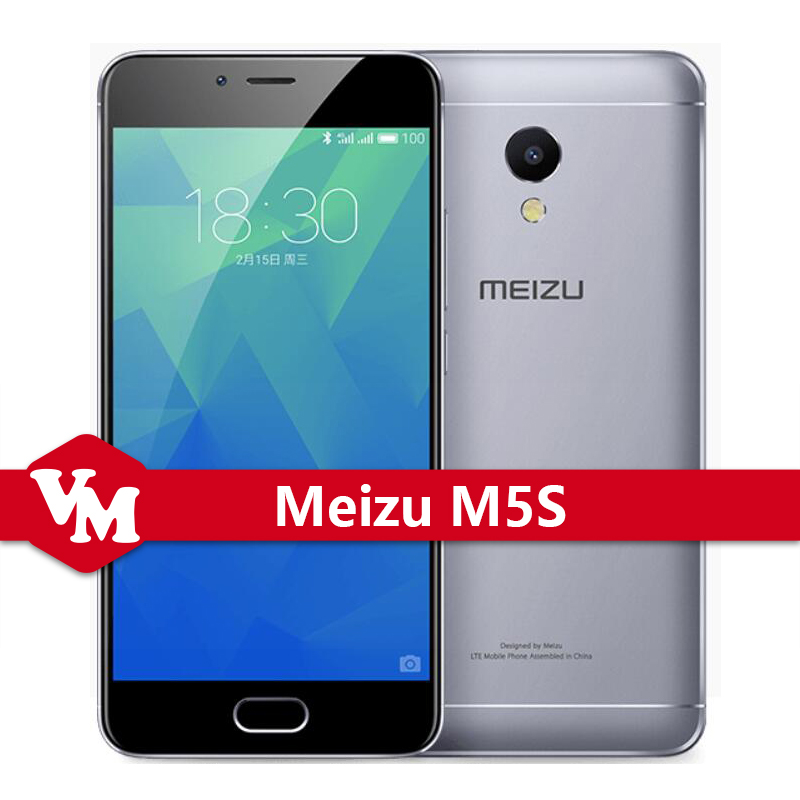 Original Meizu M5S 3GB 16GB Mobile Phone MTK6753 Octa Core 13MP 5.2 Inch M5s Cell Phone mTouch 2.1 Fingerprint ID Quick Charge
