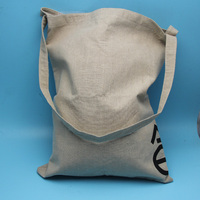 Wholesale canvas jute drawstring shoe bag manufacture