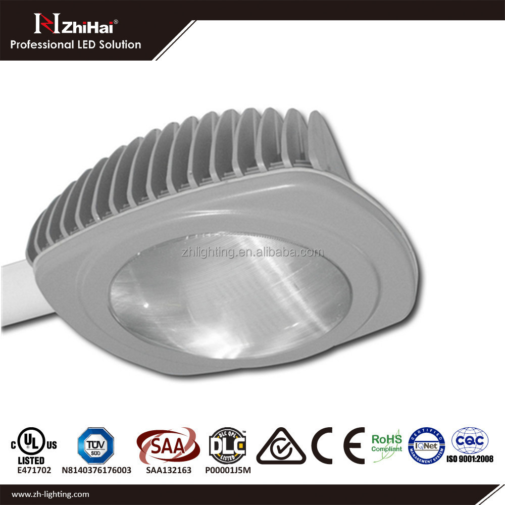 DLC UL TUV SAA Certified Photocell Factory Direct 110lm/w IP67 180W LED Street Light Lamp with 5 Years Warranty