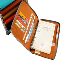 alibaba china business leather executive notebook paper /leather portfolio
