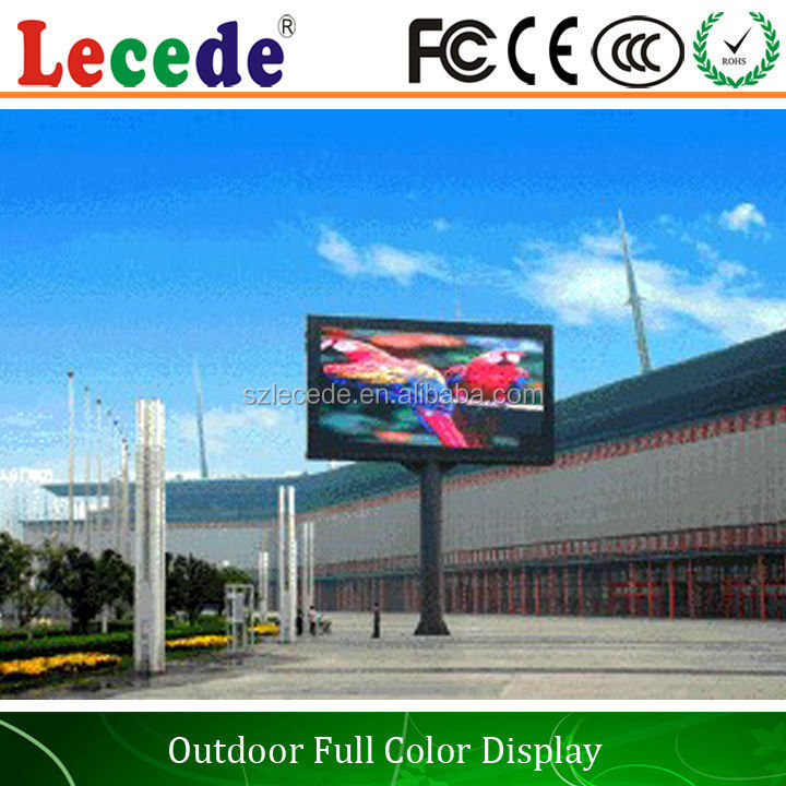 P8,P10,P16 outdoor advertising led display screen prices,meanwell power supplu with it,top quality