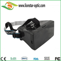 3D VR oculus google cardboard virtual reality helmet, customized VR glasses for promotion