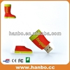 fashion 2.0 high quality open mold shoes usb flash drives