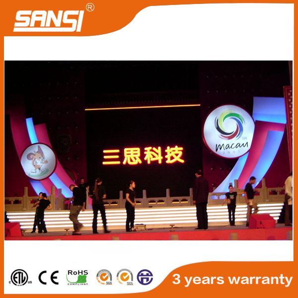 SANSI high quality indoor hd full color led display led display controller
