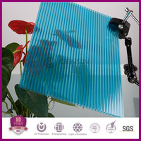 Haining 10-year quality guarantee 100% virgin Lexan material hollow polycarbonate greenhouse roofing sheet 2100*5800mm