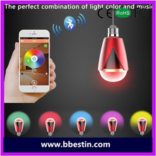 BBEST Cheap Wireless Audio LED Lamp Touch sensor bluetooth wireless speaker with White LED Lamp Light template
