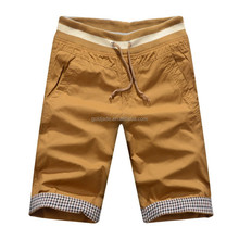 sport style mens shorts with waist draw string