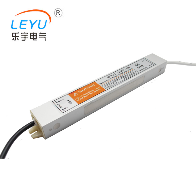 High efficiency Waterproof switching power supply LDV-30-24 Waterproof Series Power Supply 30w 24v Mini Led Power Supply