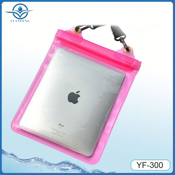 Factory suppiler for ipad mini waterproof bag for ipod speaker