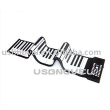 NEW!!! 61 keys piano silicone keyboard UST-KY26
