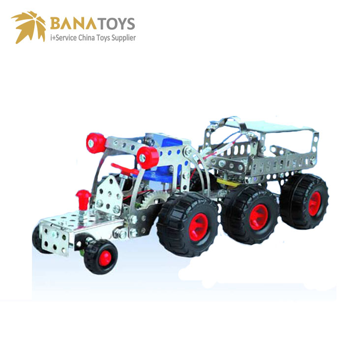 909050503-Kid diecast truck metal assembly toys