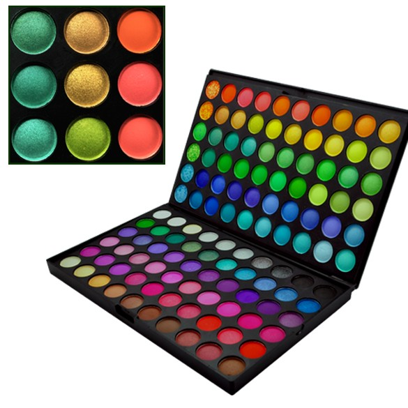 Private Label Cosmetics Makeup 120 Colors Eye Shadow, 120 Make Up Eye Shadow Palette
