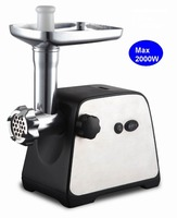 High power Copper and aluminum motor reversible function Kitchen stainless steel Meat Grinder