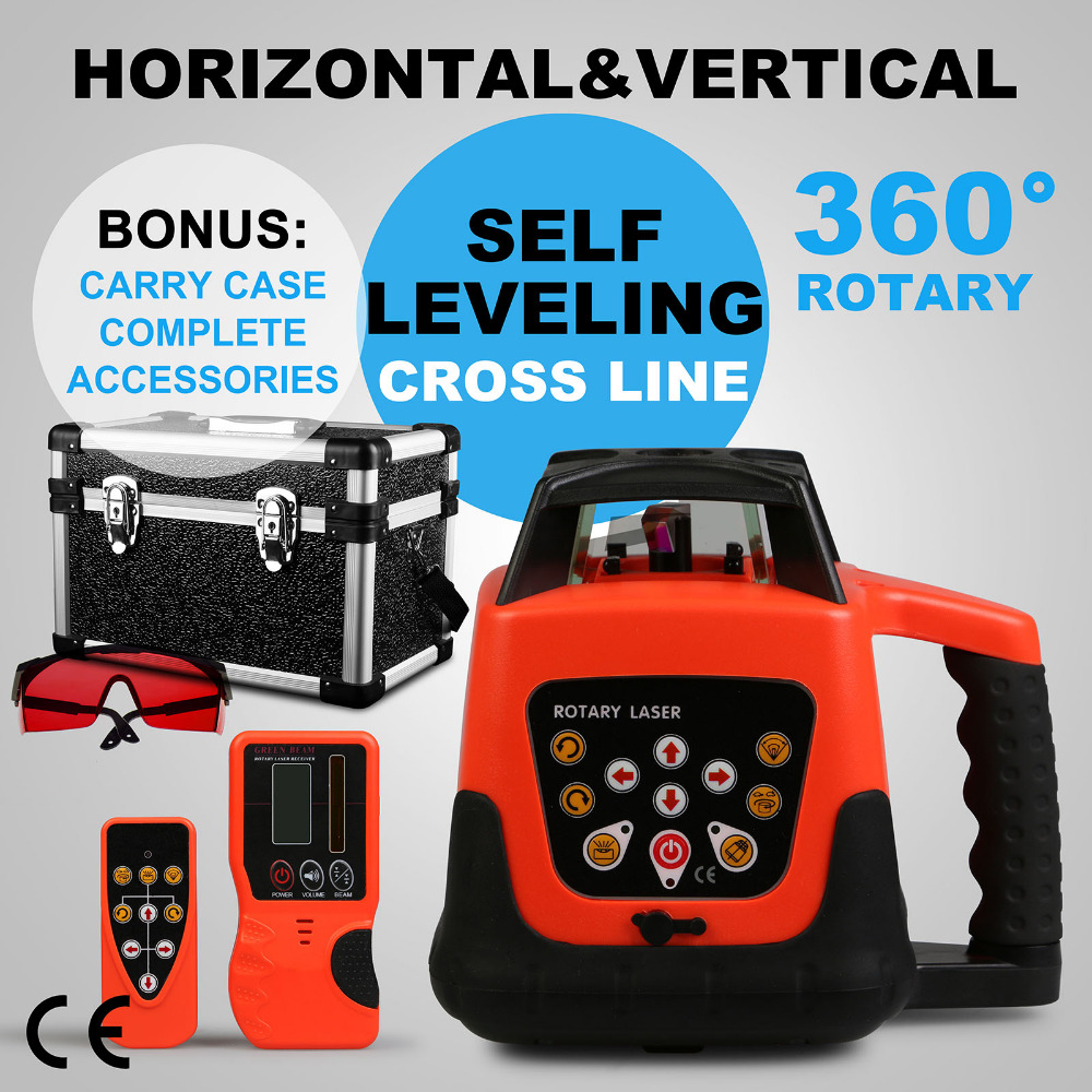 Cheapeest 500M Automatic Electronic Self-Leveling Rotary Rotating Red Laser Level In Construction And installation Or Decoration