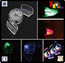 Color LED Light Flashing Mouth Teeth Guard Piece Gadget Filler Party Glow Gift