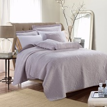 Luxury design bed linen wedding cotton bedspread for home