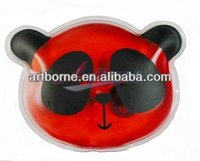 Red cute animal shape reusable hand warmer/ high quality! CE/FDA/SGS/MSDS/ISO)