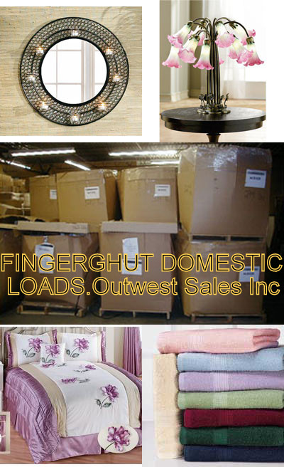 FINGERHUT MAIL-ORDER OVERSTOCK MERCHANDISE BY THE TRAILERLOAD.
