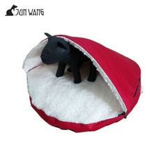 Professional factory supply good quality soft fabric dog house