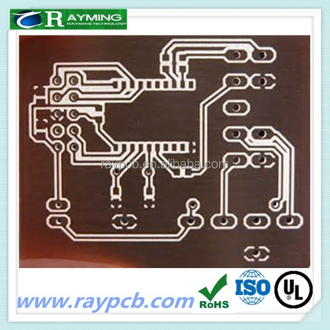 Brown soldermask 8 layer hybrids circuit board