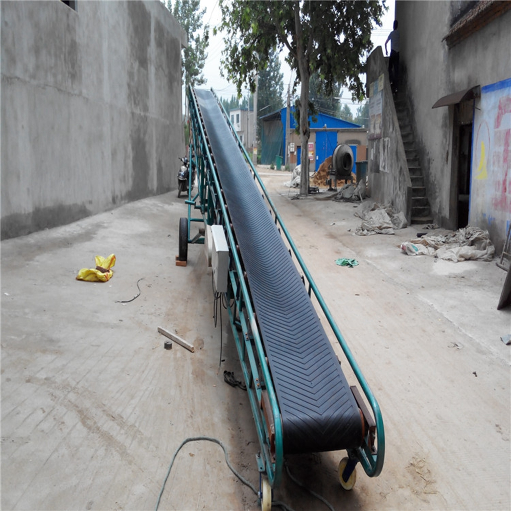 China supplier nonslip endless flat/chevron transmission assembly line conveyor belt for inclined belt conveyor