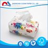 2017 Hot Selling Color Facial Tissue Box Design In Shanghai Market