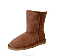 Unisex Sheepskin Short Boots Women's Size