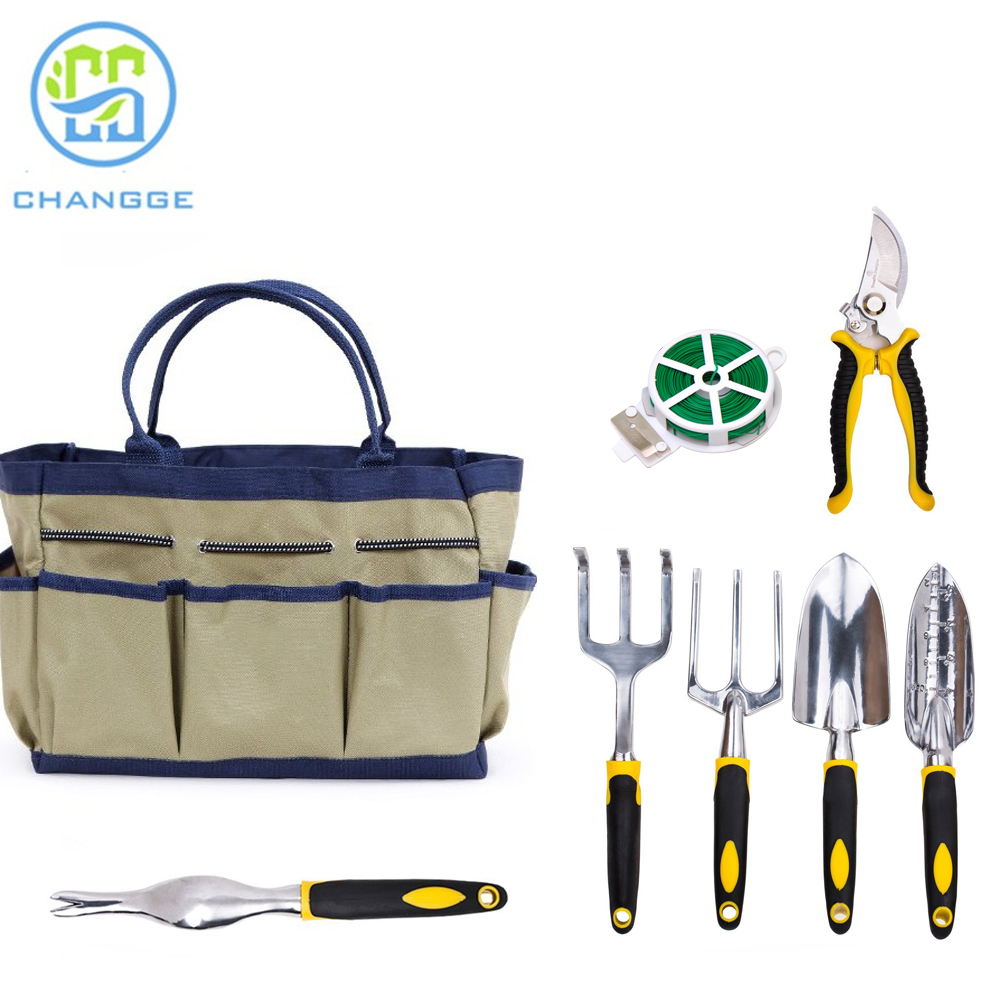 Garden Tool Set with Bag Indoor Outdoor Manufacturer Garden Tote
