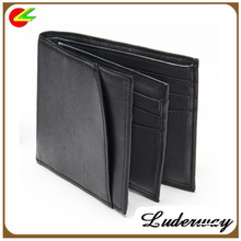 importer of large capacity security leather wallets in black