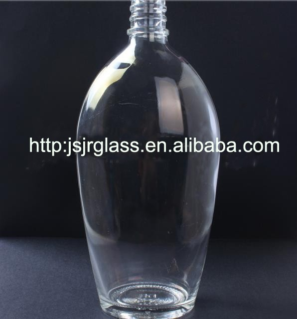 wholesale Factory Made 750ml crystal glass wine bottle