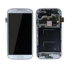 Display with assembly digitizer lcd touch screen with frame for samsung galaxy s4 i9500 gt-i9500 sgh-m919 sph-l720 i9502 i950