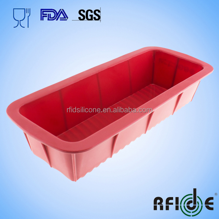 Rfidsilicone 12.5-inch Large Silicone Mold/Loaf Pan for Soap and Bread - 1 PC